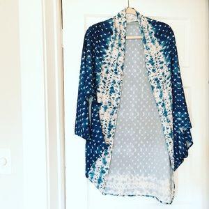 Kimono cardigan cover-up
